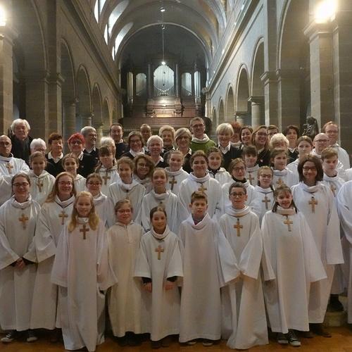 Messe à l'église Saint Michel - Saint Brieuc (22)