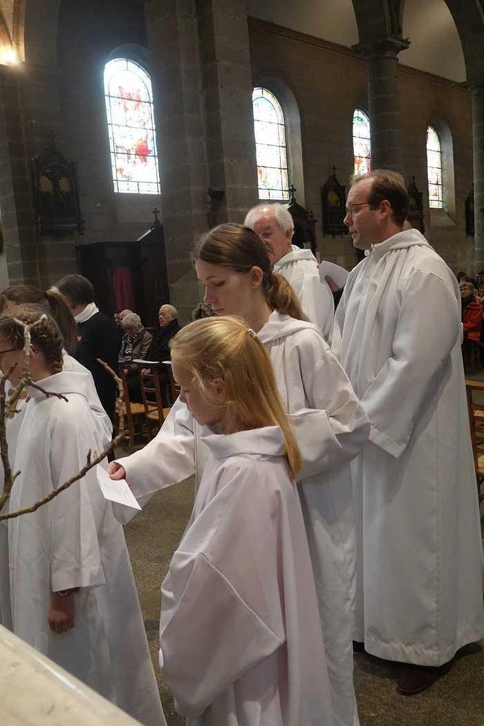 Messe à l'église Saint Michel - Saint Brieuc (22) 8317262127002297967277437816887044755423232o
