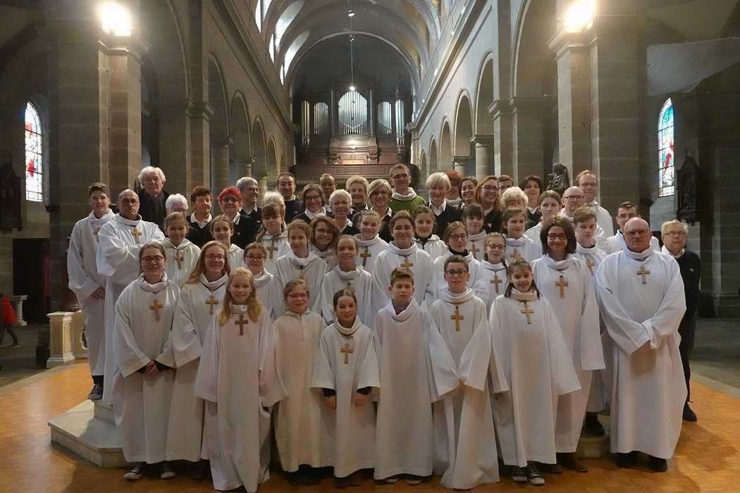 Messe à l'église Saint Michel - Saint Brieuc (22) 0