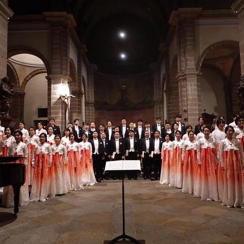 Choeur National de Corée : concert du 5 Novembre 2019