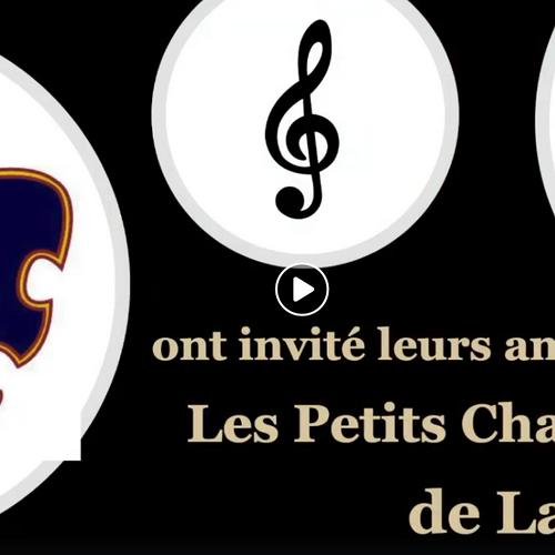 Les Petits Chanteurs de Lannion seront avec nous !