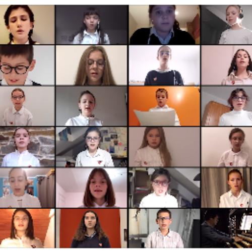 Les Petits Chanteurs de Saint-Brieuc fêtent Sainte Cécile