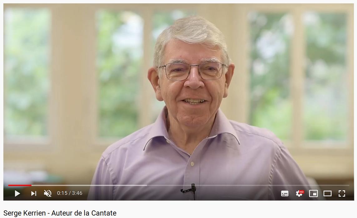 Vidéo - Serge Kerrien, auteur de la Cantate pour les 600 ans de la Cathédrale de Saint-Brieuc (22) 0