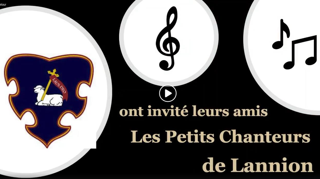 Les Petits Chanteurs de Lannion seront avec nous ! 0
