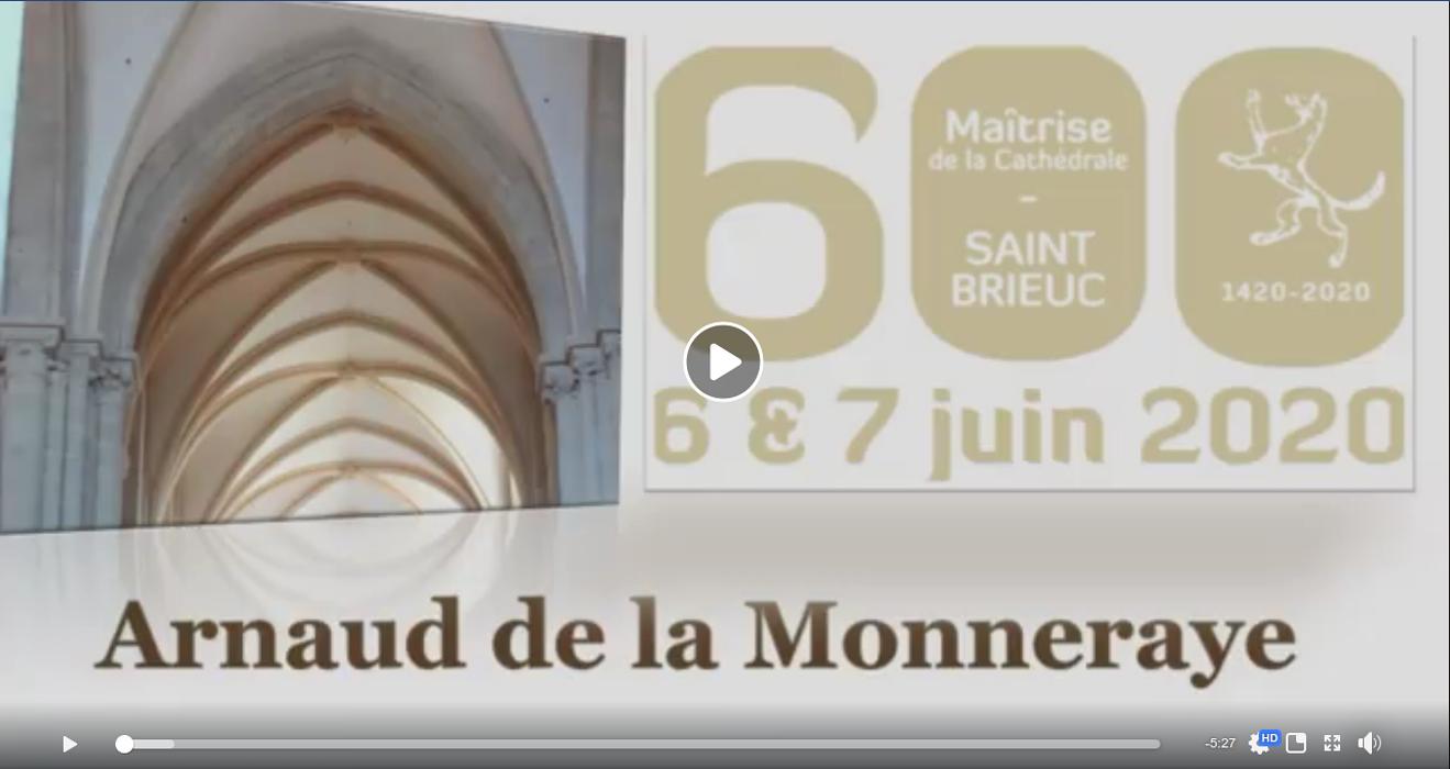 Les 600 ans : un travail en collaboration avec Arnaud de La Monneraye 0