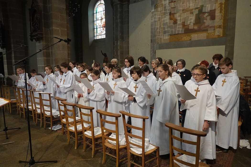 Messe à l'église Saint Michel - Saint Brieuc (22) 8291491827002303900610172570937904075374592o