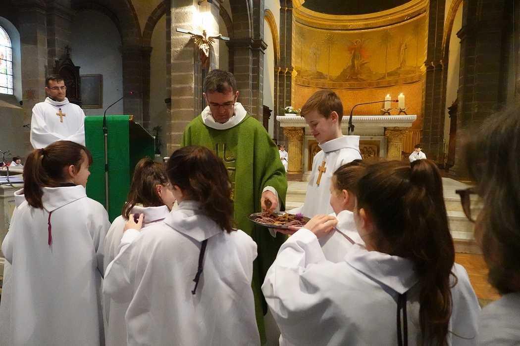 Messe à l'église Saint Michel - Saint Brieuc (22) 8432725727002299500610613325079284455833600o