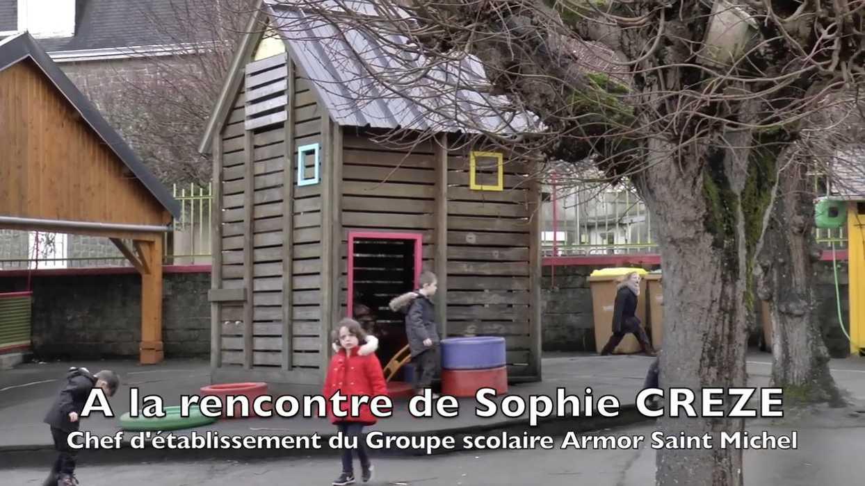 Entretien avec Sophie Creze directrice de l''école St-Michel - à St Brieuc 0