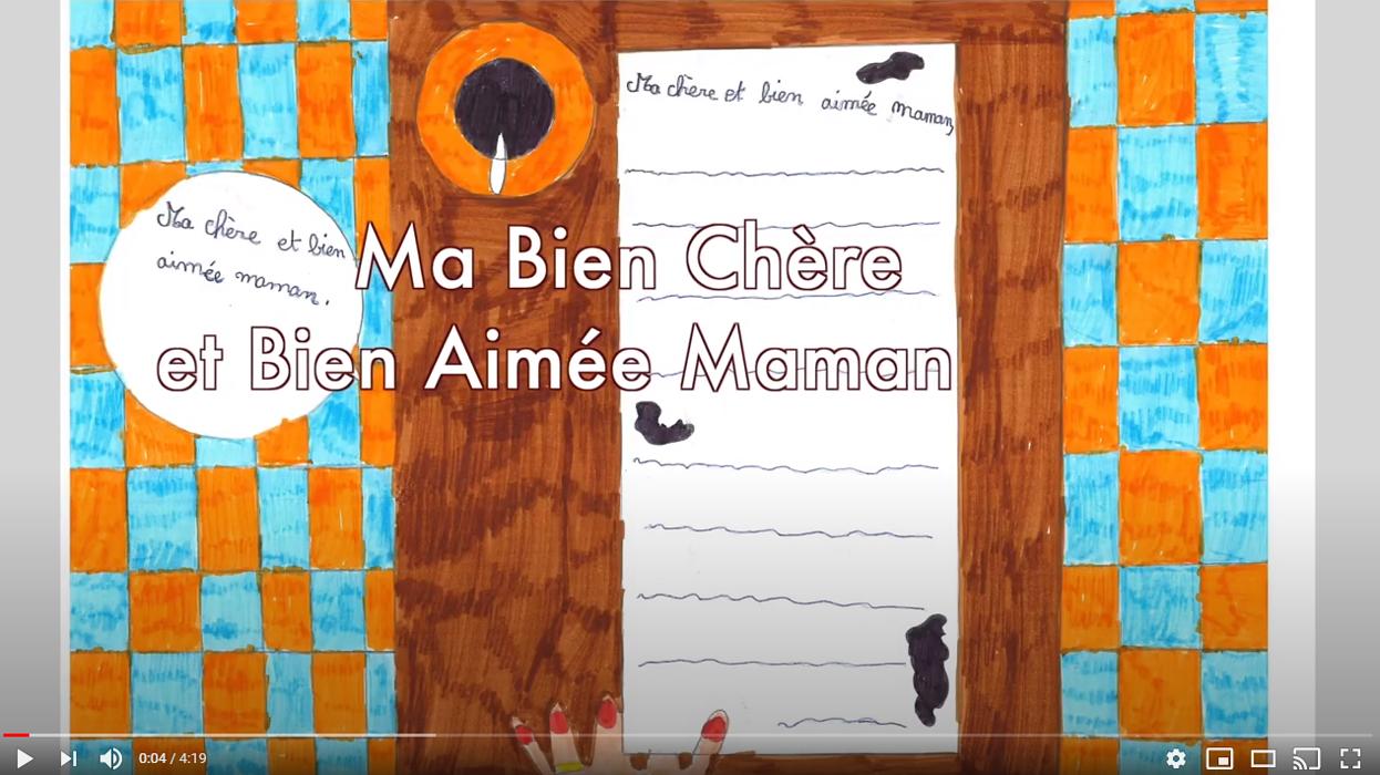 Les CM2 B interprètent « La lettre de Henri Durand, poilu, à sa maman » 0